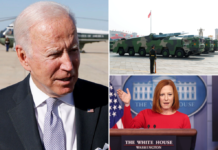Joe Biden concerned about possible China hypersonic missile