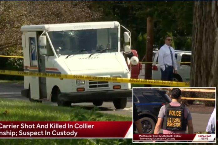 Eric Kortz charged with fatally shooting Pennsylvania postal worker Louis Vignone