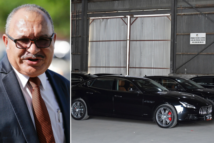 Papua New Guinea's 'terrible mistake' in buying $5.6M in cars