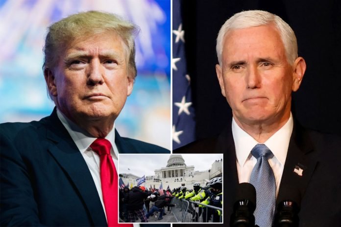 Pence, Trump 'talked through' differences after Capitol riot