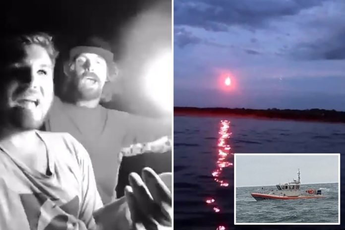 Rhode Island men fined after setting off distress flares at wedding