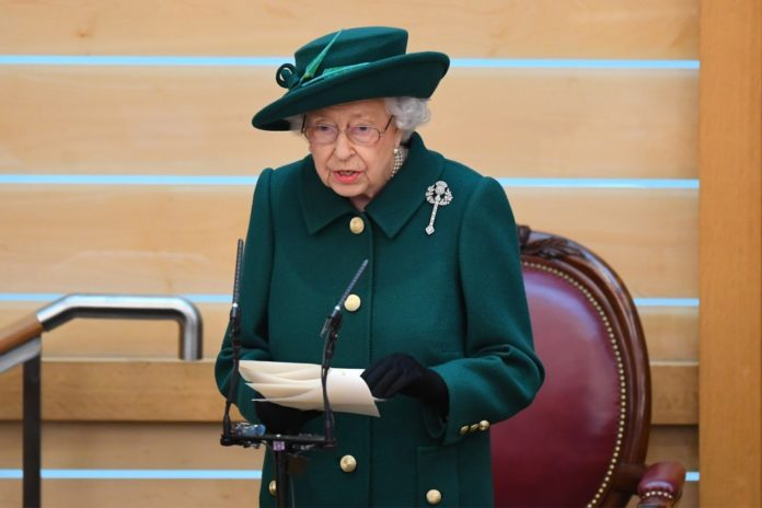 Queen speaks publicly about Prince Philip for first time since his death