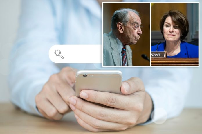 Senate bill seeks to ban Big Tech from rigging search results