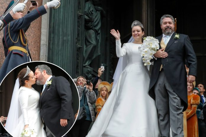 Russia celebrates first royal wedding in more than a century