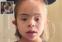 Florida father Jeffrey Steele accuses school of tying mask to head of disabled daughter Sofia