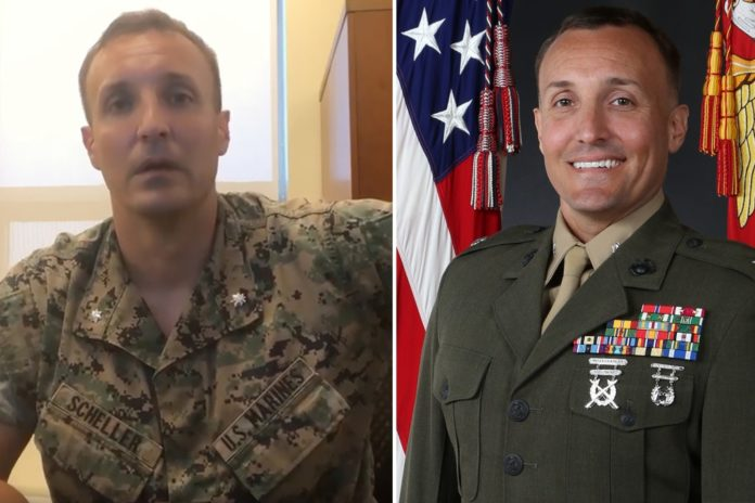 Marine Stuart Scheller pleads guilty for video attacking US Afghan exit