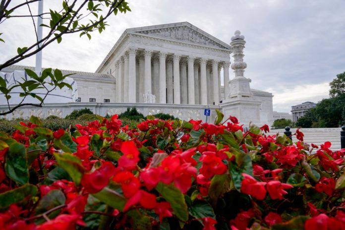 Justices' views on abortion in their own words and votes