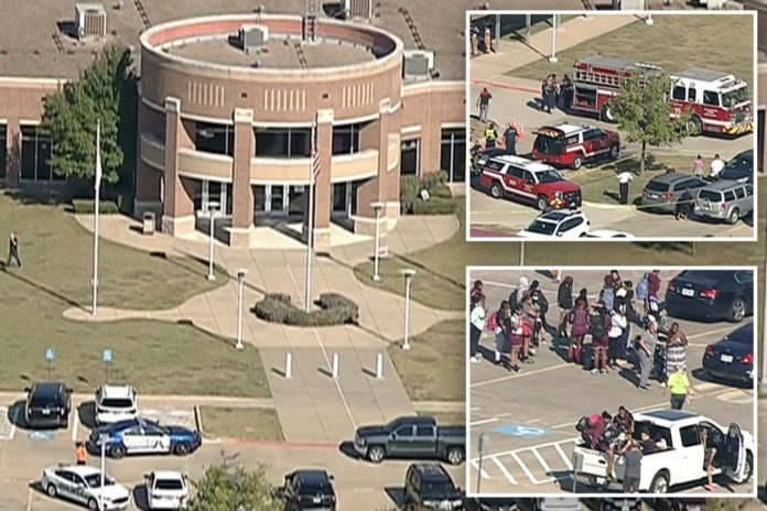 Multiple people reportedly injured in Texas high school shooting