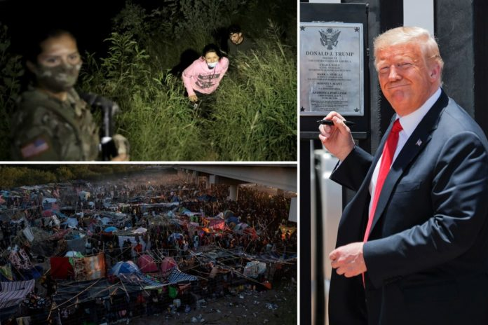 Migrants didn't try to cross US border under strict Trump policies