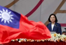 Taiwan president confirms US troop presence amid tensions with China