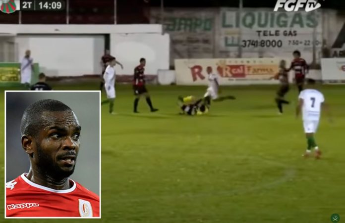Soccer player charged with attempted murder for kicking ref in the head